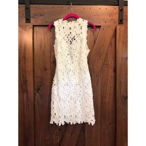 NWT White lace boutique dress